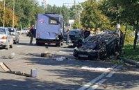 У Донецьку через потрійну ДТП з маршруткою загинули діти