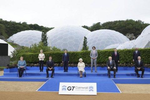 Лидеры G7 в итоговом заявлении призвали Россию вывести войска из Донбасса и Крыма