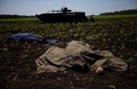 Из-за обстрела сел в Донецкой области погибли десятки мирных жителей, - СНБО