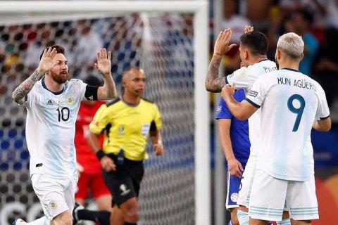 Гол Месси не помог сдвинуть сборную Аргентину с последнего места в группе на Копа Америка-2019