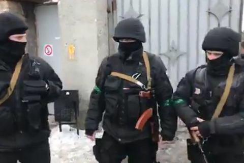 Силовики прийшли на базу полку