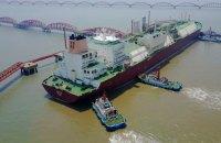Китай побудує найбільше судно для перевезення скрапленого газу