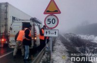 На одеській трасі в одному місці сталося шість ДТП через ями на дорозі