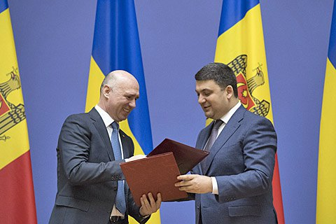 Гройсман пообещал Молдове не строить ГЭС на Днестре без одобрения экологов