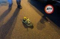 В Киеве полицейский автомобиль сбил подростка на переходе (обновлено)