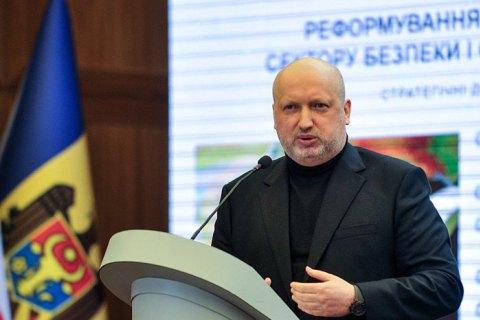 Турчинов: никакого обострения в Украине нет, обострение - лишь в головах руководства РФ
