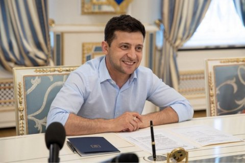 Зеленский запустил блог о жизни президента