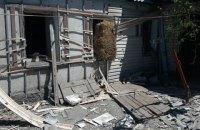 Боевики снова обстреляли дома мирных жителей Авдеевки