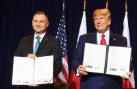 Дуда и Трамп подписали декларацию о расширении военного сотрудничества