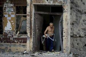 Центр Донецка подвергся массированному артобстрелу, - горсовет
