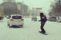 В понедельник в Киеве обещают небольшой снег