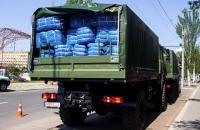 Латвія передала 8 тонн гуманітарної допомоги для прифронтових міст Луганщини