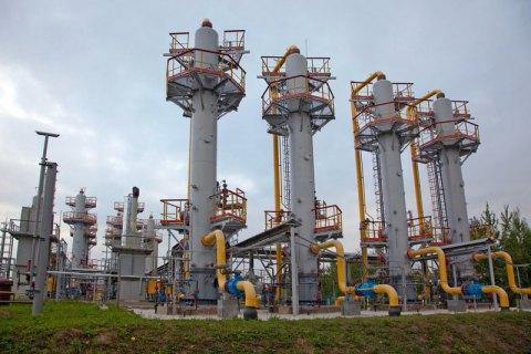 Україна припинила відбір газу з підземних сховищ