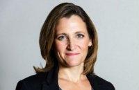Фриланд возглавила министерство финансов Канады