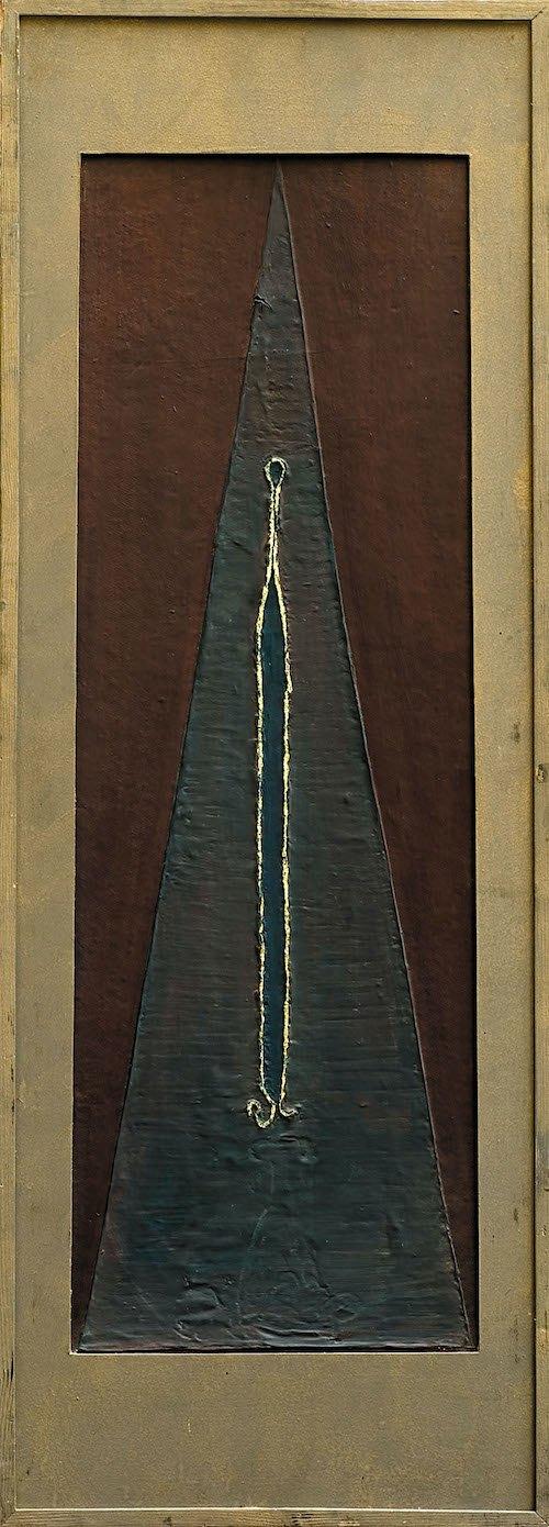 Олег Мінько, Замкова шпарина, 1965