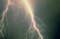 Женщина погибла от удара молнии в  Черкасской области