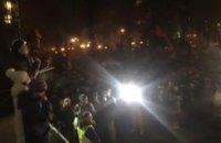 """Саакашвілі оголосив наметове містечко біля Ради """"новою Січчю"""""""