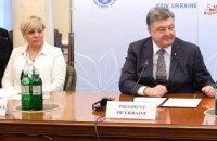 Порошенко оголосив нагороду 3 млн гривень за інформацію про замовника і виконавців нападу на Гонтареву