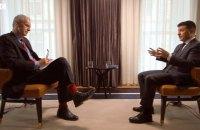 Про що говорив Зеленський в інтерв'ю BBC