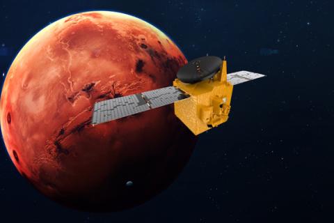 Зонд ОАЕ вперше вийшов на орбіту Марса