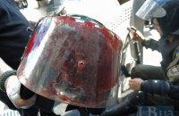 Один из силовиков из-под здания Рады находится в коме (обновлено)