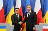Дуда прийняв запрошення Зеленського приїхати в Україну в жовтні