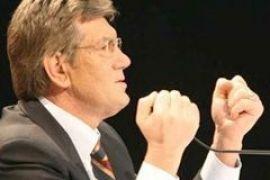 Ющенко готов бороться с пиратами