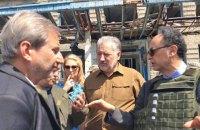 ЕС выделит дополнительно €50 млн для восстановления инфраструктуры Донбасса, - Хан