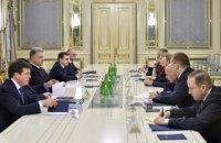 Порошенко провел встречу с представителями Украины в Трехсторонний контактной группе