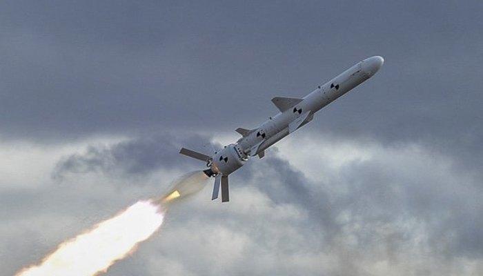 Ракета 'Нептун' на військових навчаннях влітку 2018 р