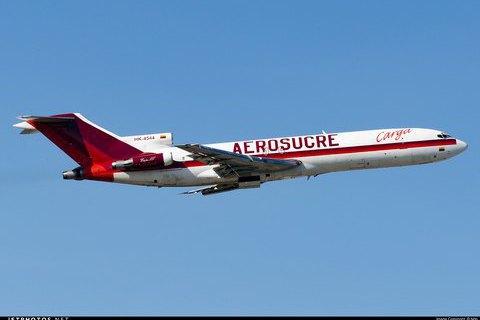 У Колумбії розбився вантажний літак Boeing 727