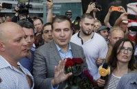 Саакашвили рассказал о случайной встрече с Порошенко после депортации