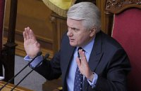 Литвин не убедил оппозицию прекратить блокирование Рады