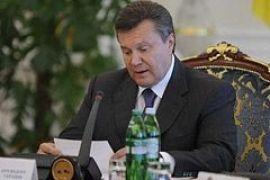 Янукович подписал законы о местных выборах и судоустройстве