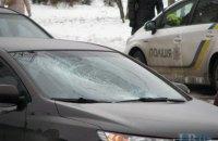 В Киеве на Закревского KIA сбил пешехода-нарушителя
