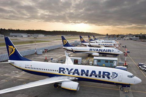 Ryanair влітку відкриє 18 нових маршрутів з України