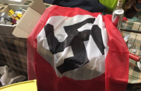 """В камере экс-бойцов """"Торнадо"""" в Лукьяновском СИЗО нашли флаг со свастикой, биты и дорогой алкоголь"""