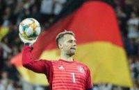 Голкіпер збірної Німеччини побив рекорд Бундестіму 40-річної давності