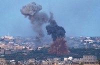 Израильские военные нанесли серию ударов по Сектору Газа