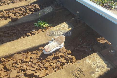 Пасажирський поїзд збив насмерть двох людей у Києві
