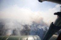 Данилов предположил, что к пожарам в Житомирской области могут быть причастны владельцы земли