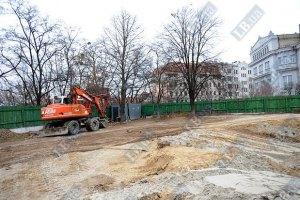 Московський патріархат добудовує свій храм біля Десятинної церкви