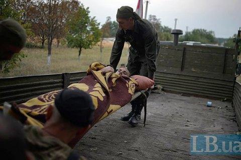 У Луганській області поранено п'ятьох військових