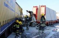 У масштабній ДТП у Сербії зіткнулися понад 30 авто