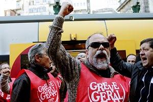 В Португалии проходит всеобщая забастовка против мер жесткой экономии