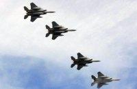 """Накануне учений """"Запад-21017"""" в Литву прибыли 7 истребителей США"""
