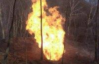 У Закарпатській області прорвало магістральний газопровід (оновлено)