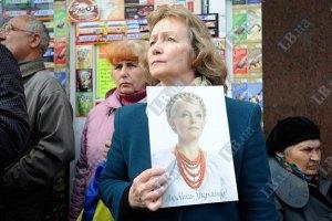Приговор Печерского суда не увеличил рейтинг Тимошенко