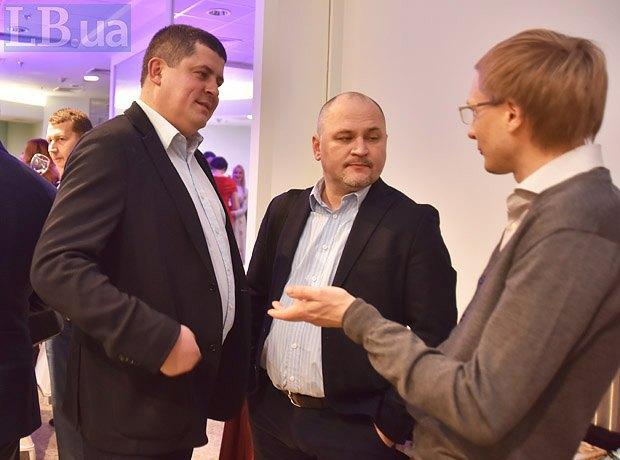 Максим Бурбак, Александр Сочка и Андрей Ляшенко