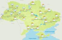 У понеділок дощитиме у західних та більшості північних областей України